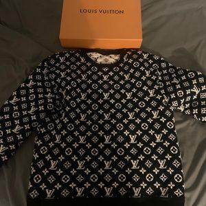 Louis Vuitton Jacquard Monogram Sweater